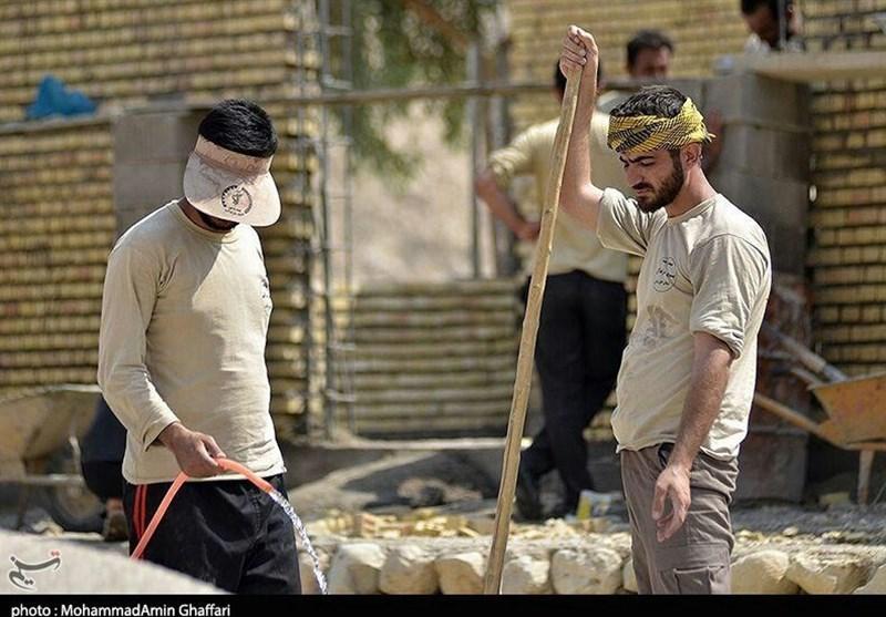 فارس| سومین شهرک صنعتی بزرگ کشور میزبان اردوی جهادی بسیجیان است