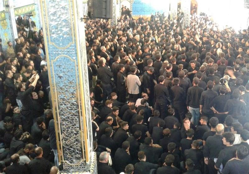 مراسم طشتگذاری مسجد جامع اردبیل به روایت تصویر