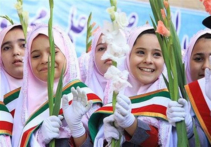 مانور بازگشایی مدارس در مازندران برگزار شد
