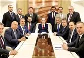 اردوغان: ادعای استفاده از تسلیحات شیمیایی در سوریه از سوی آمریکا بهانه جویی است/پخش زنده نشست تهران برای ما خیر بود