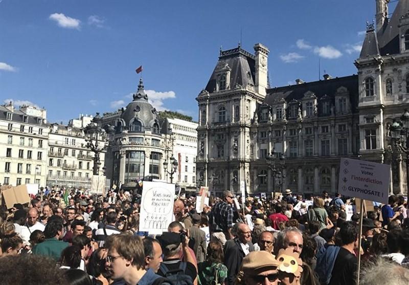 شرکت بیش از 50 هزار نفر در تظاهرات آب و هوایی در پاریس