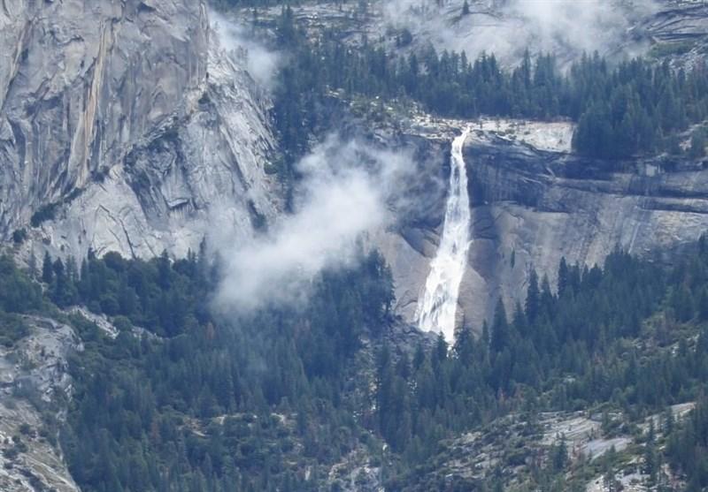 سلفی مرگبار با آبشار نوادا