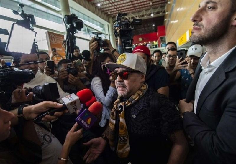 فوتبال جهان| آغاز دوران مربیگری مارادونا در منطقه اصلی قاچاق مواد مخدر مکزیک!