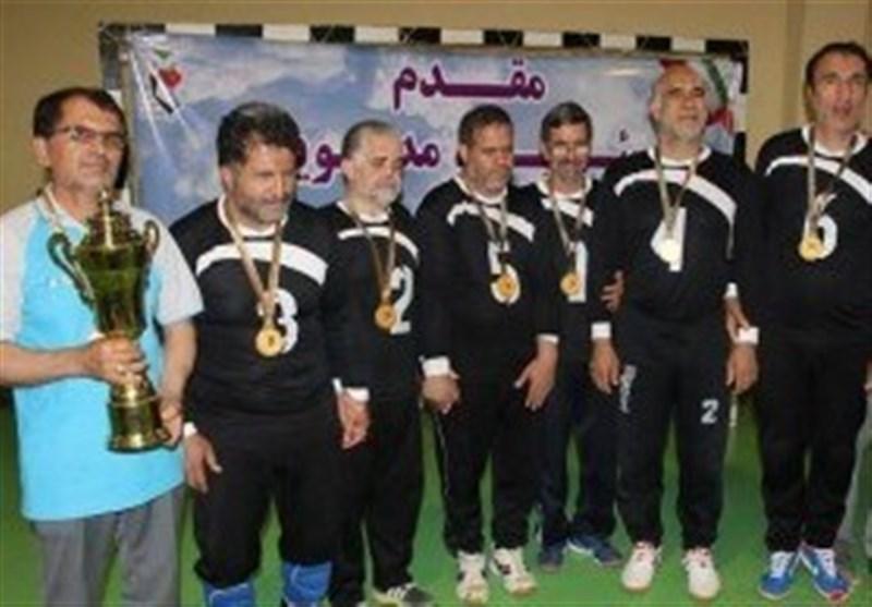 برگزاری مسابقات گلبال دسته برتر جانبازان بصیر