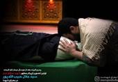 وداع با پیکر دو شهید مدافع حرم در معراج شهدا + فیلم