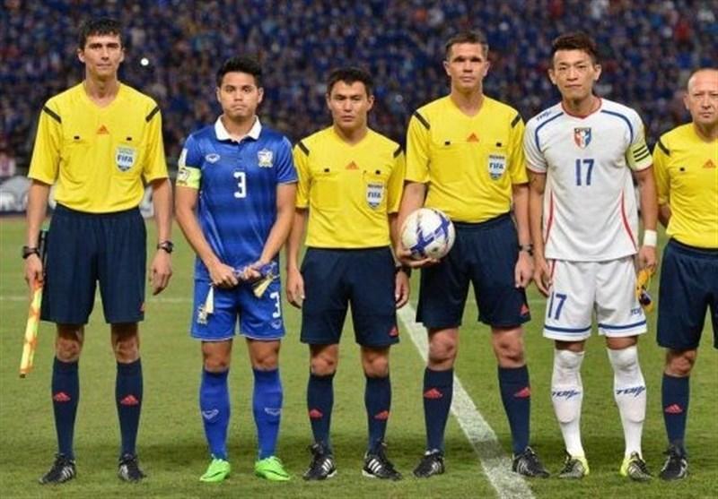 انتخاب تیم داوری بازی ازبکستان و ایران