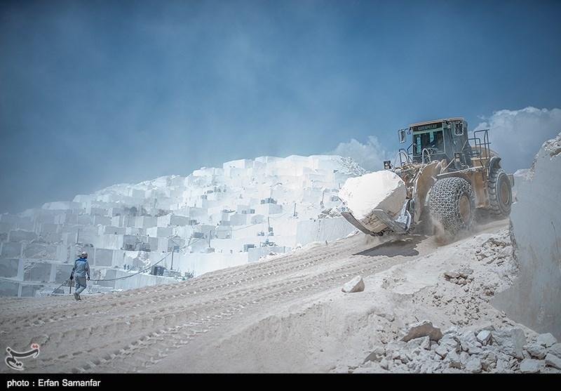 بهرهبرداری از معدن سنگ مرمریت استان بوشهر متوقف شد