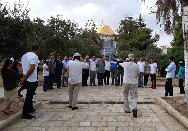 فلسطین یورش شهرکنشینان صهیونیست به مسجدالأقصی/ انتقاد حماس از بازداشتهای سیاسی در کرانه باختری