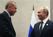 درخواست اردوغان از پوتین در مورد کُردهای سوریه