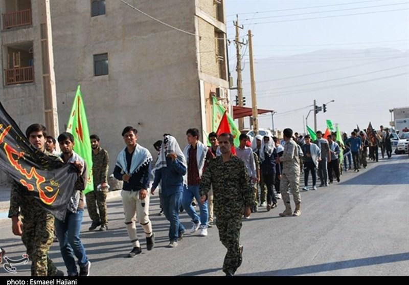 بوشهر  تجمع بزرگ بسیجیان در رزمایش اقتدار عاشورایی در شهرستان دشتی به روایت تصویر