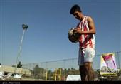 رقابتهای قهرمانی فوتوالی جوانان کشور در بجنورد به روایت تصویر