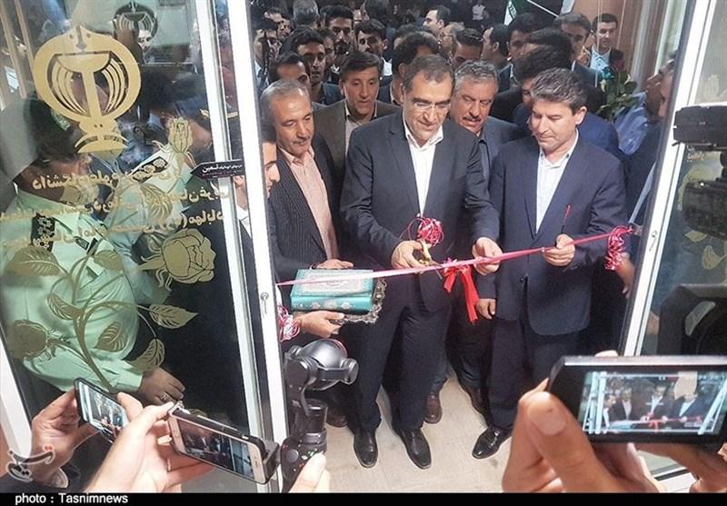 دومین روز از سفر وزیر بهداشت به آذربایجانغربی بهروایت تصویر