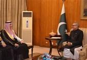 دیدار وزیر سعودی با رئیسجمهور پاکستان تنها ساعاتی پس از تحلیف وی