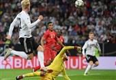برتری دشوار آلمان در دقایق پایانی بازی دوستانه