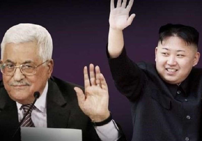 پیام ابومازن به رهبر کره شمالی