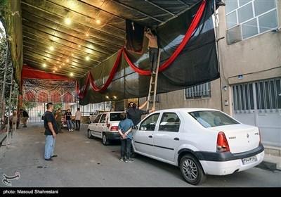 تہران کی گلی کوچوں میں محرم کی خوشبو