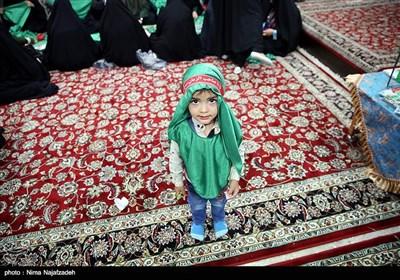 کارگاه دوخت لباس شیرخوارگان حسینی حرم مطهر رضوی