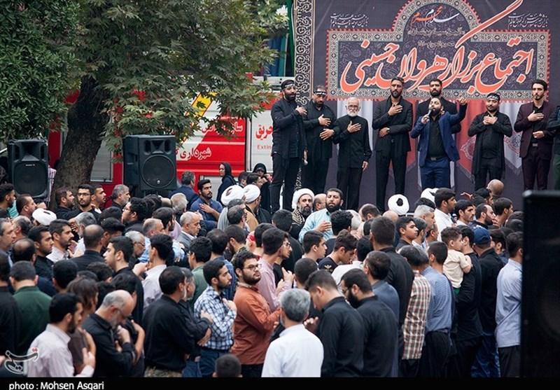 شور حسینی در دیار دارالمومنین گرگان بهروایت تصویر
