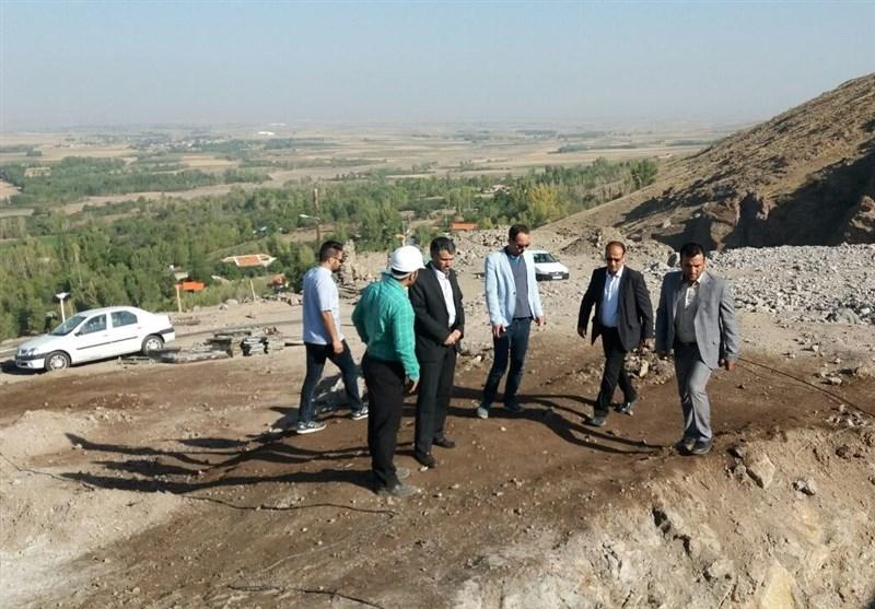 فیلم افتتاح نخستین پل تمام شیشهای ایران در هیر