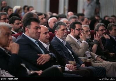 سیدعباس صالحی وزیر فرهنگ و ارشاد اسلامی در آیین اختتامیه دوازدهمین جشنواره ملی موسیقی جوان