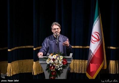 سخنرانی حسین علیزاده در آیین اختتامیه دوازدهمین جشنواره ملی موسیقی جوان