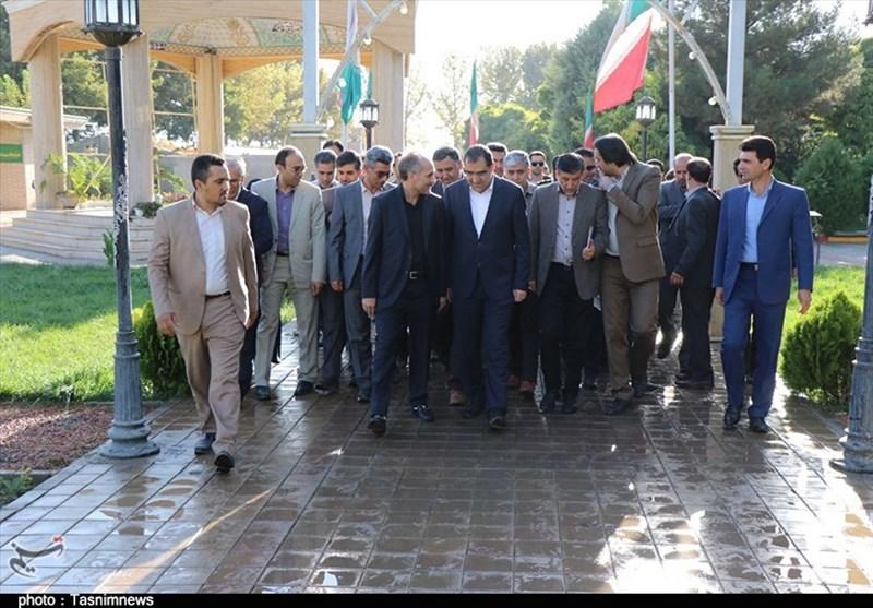 وزیر بهداشت فاز دوم بیمارستان حضرت فاطمه(ع) میاندوآب را افتتاح کرد