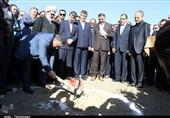 وزیر بهداشت کلنگ احداث بیمارستان 250 تختخوابی میاندوآب را به زمین زد