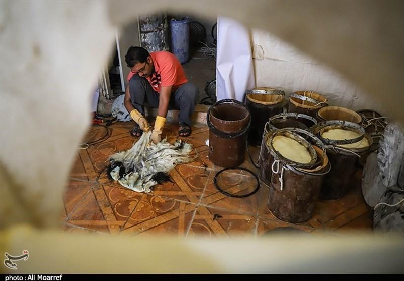 تصاویری از کارگاه دمام سازی حاج محمدعلی ناصر در اهواز