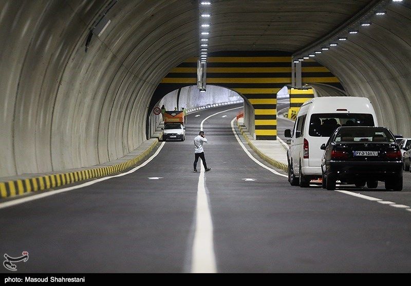 تونل راه کربلا - ایلام ریزش کرد