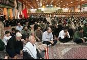 مراسم وداع رزمندگان لشکر 25 کربلا با دو شهید مدافع حرم مازندران به روایت تصویر