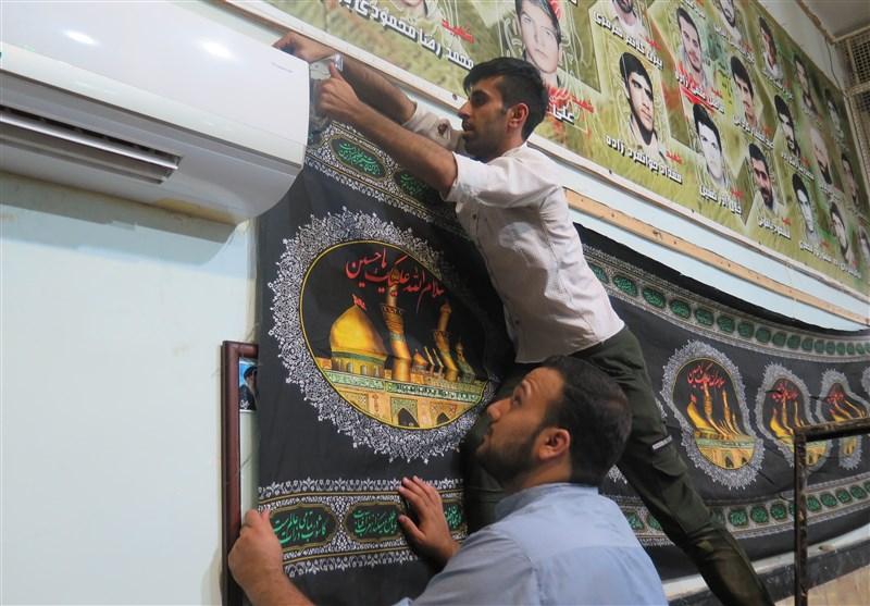 بوی محبت به امام حسین(ع) در کوچه پسکوچههای اهواز