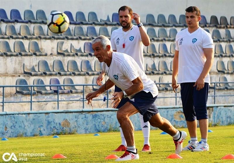 فوتبال جهان|سرمربی آرژانتینی حریف ایران پا به توپ شد