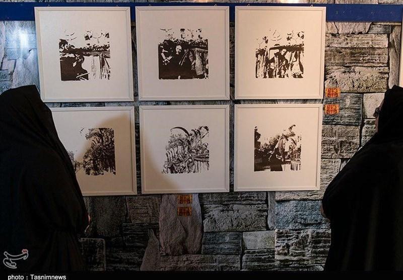 استقبال از نمایشگاه عکس عاشورایی جوان 20 ساله یاسوجی؛ مسئولان هنرمندان را حمایت کنند