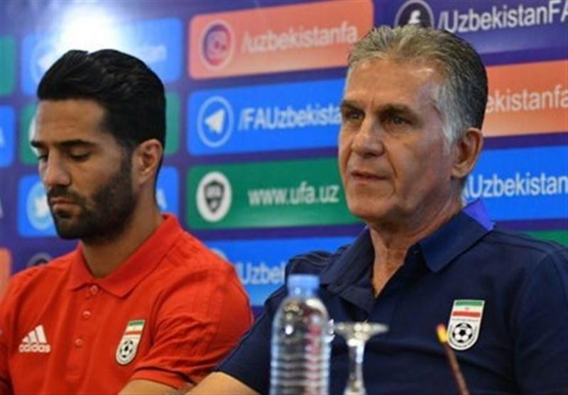 کیروش: رمز ماندنم در ایران بازیکنانم هستند/ با تیمی قدرتمند بازی داریم