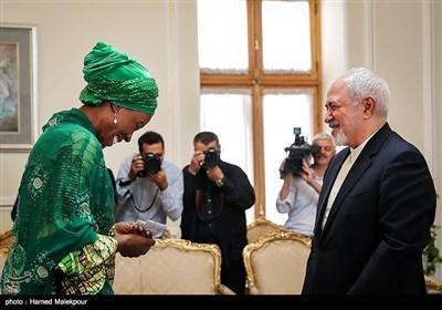 دیدار هماهنگکننده جدید سازمان ملل متحد با محمدجواد ظریف وزیر امور خارجه
