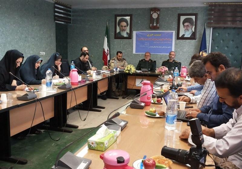 نشست خبری رزمایش اقتدار عاشورایی بسیجیان مازندران