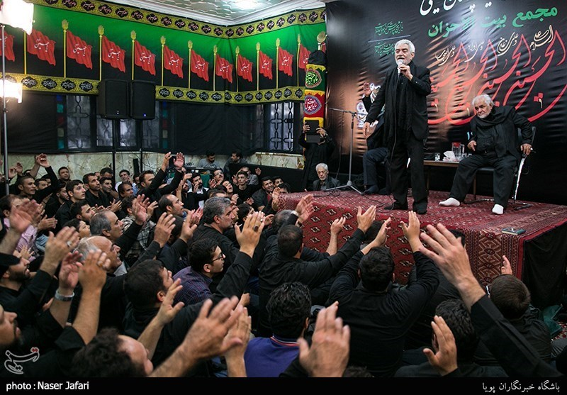آیین سیاه پوشان در امامزاده معصوم