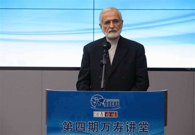 خرازی:تعاون طهران وبکین فی اعادة إعمار العراق وسوریا سیکون فاعلاً