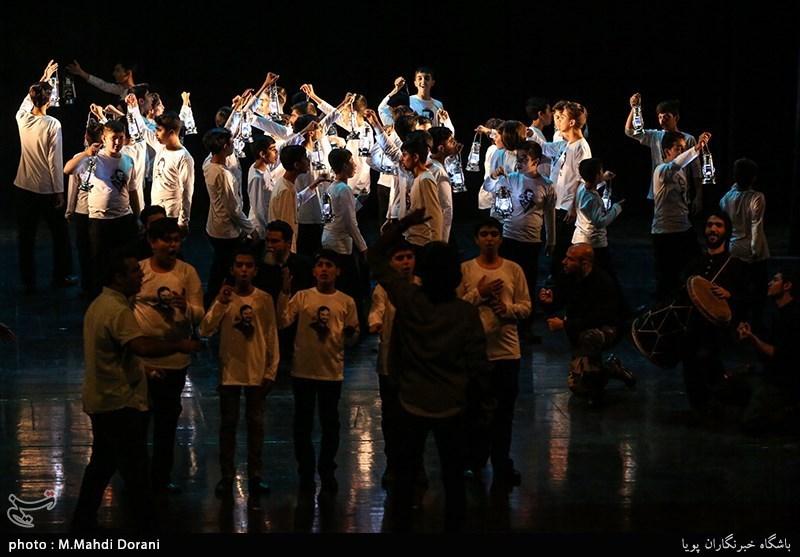قطعات آلبوم سرود «بزرگراه» در قالب سرود نمایش به اجرا درآمد