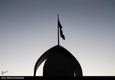 اهتزاز پرچم 1000 متری یاحسین(ع) برفراز مرتفع ترین برج پرچم خاورمیانه