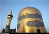 تجمع بزرگ عزاداران رضوی در استان مرکزی برگزار شد