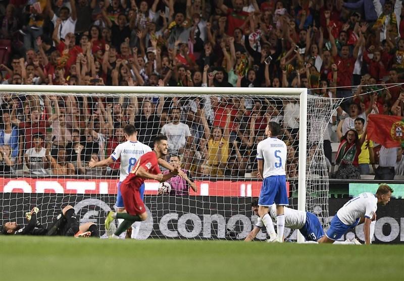 فوتبال جهان| اتفاقی بیسابقه در 20 سال گذشته که منجر به باخت ایتالیا مقابل پرتغال شد