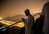 """تصاویر/ حجاج ایرانی در """"غار حرا"""" مکه مکرمه"""