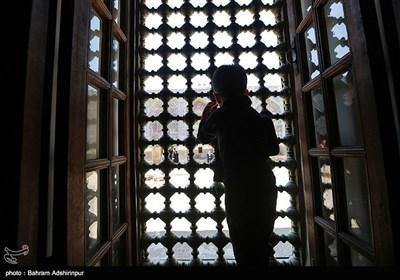 آیین طشت گذاری در مجموعه میراث جهانی شیخ صفی الدین اردبیلی