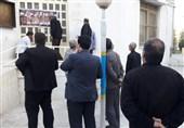 «مردم» درب شورای شهر بروجرد را «تخته»کردند+تصاویر