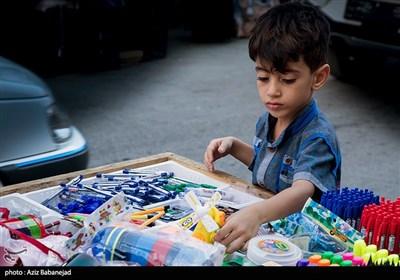 خرید لوازم التحریر در آستانه بازگشایی مدارس - خرم آباد
