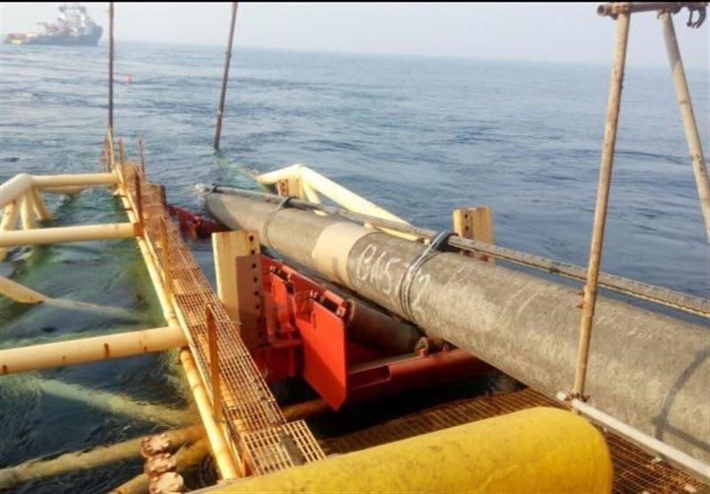 بوشهر|عملیات خط دوم لولهگذاری دریایی فاز 13 پارس جنوبی تکمیل شد