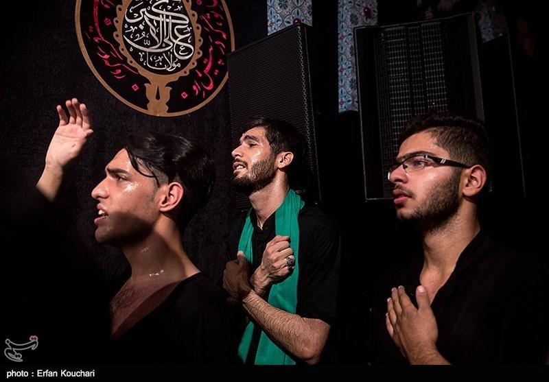 اردبیل| اهتزاز پرچم عزای حسینی در خلخال+فیلم