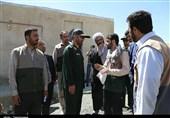 بازدید فرمانده سپاه استان کردستان از فعالیتهای اردوی جهادی به روایت تصویر