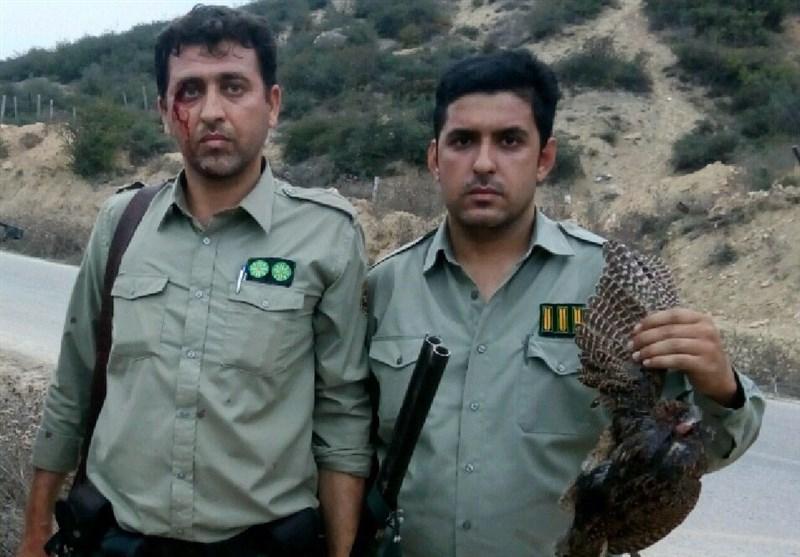 مصدومیت محیطبان پارک ملی پابند در حال دستگیری 4 متخلف